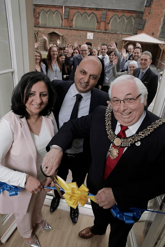 Mayor of Derby opens specialist care facility