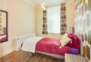 Nightingale single bedroom