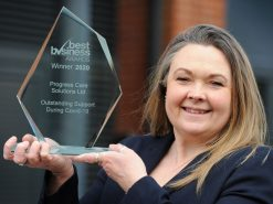 Progress recognised with award for Covid work